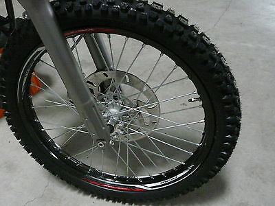 Rieju MRT 50 Freejum Front wheel rim with Tyres and Brake disc Cross moped