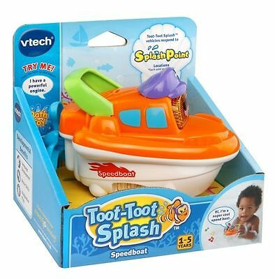 New Vtech Toot Toot Splash Speedboat 187203