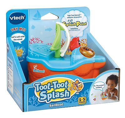 New Vtech Toot Toot Splash Sailboat 187103