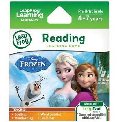 New Leap Frog Disney Frozen Reading Learning Game 39301 Leapfrog