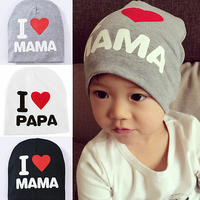 Cute Toddler Kids Baby Boy Girl Infant Cotton Soft Winter Warm Beanie Hat Cap