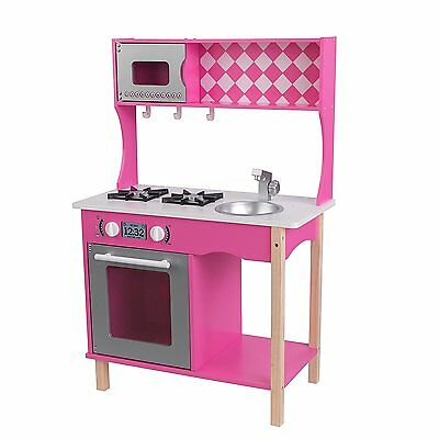 KidKraft Sweet Sorbet Pretend Play Kitchen For Kids Ages 3 Years And Up 53343