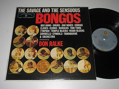 LP/DON RALKE/THE SAVAGE AND THE SENSUOUS BONGOS/WB 1398 /Sexy Cover