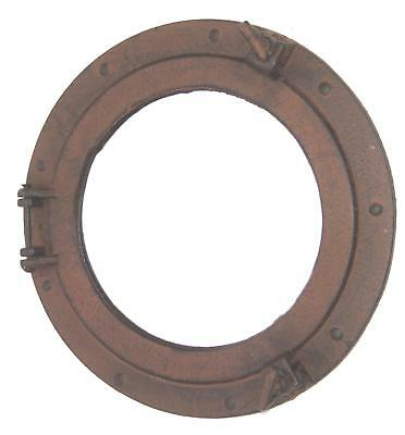 Metal Ship's Cabin Porthole Wall Mirror Nautical Maritime Ships Beach Home Decor