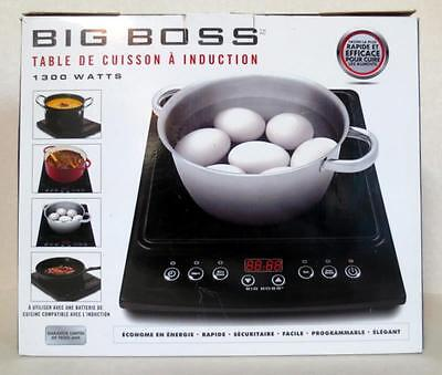 Big Boss Programmable 1300W Energy Efficient Induction Cooktop 9147FE