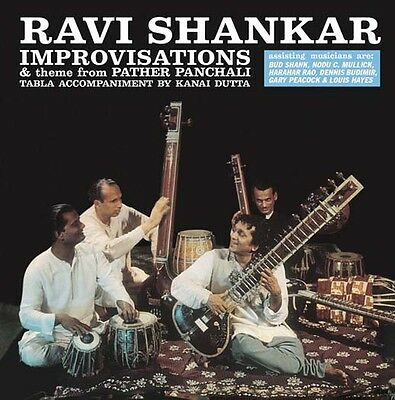 RAVI SHANKAR Improvisations LP Vinyl NEW