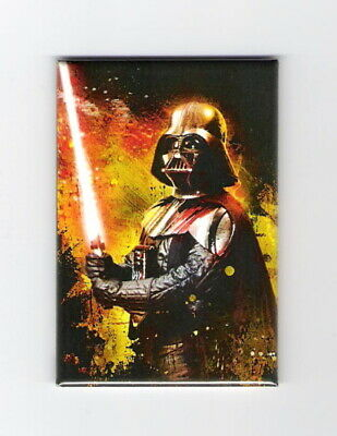 Star Wars Classic Darth Vader With His Lightsaber Refrigerator Magnet NEW UNUSED