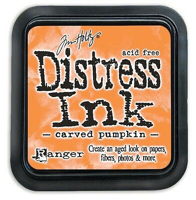 Tim Holtz Distress Ink Pad - CARVED PUMPKIN - orange