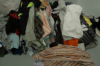100 kg MENS clothing - WHOLESALE Job Lot - mostly shirts & tops
