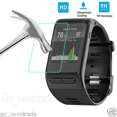 Ultra Tempered Glass Film LCD Screen Protector for Garmin Vivoactive HR Watch AU