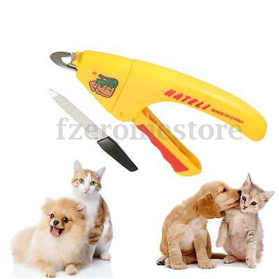 Safe Pet Nail Clipper Cutter Grooming for Dog Cat Animal Claws Scissor Cut New