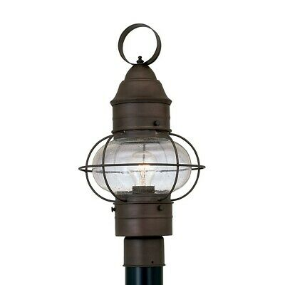 "Designers Fountain Nantucket 10"" Post Lantern, Rustique - 1766-RT"