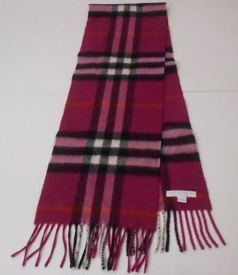 BURBERRY Childrens Exploded Check Cashmere Scarf $250