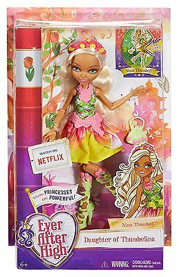 Ever After High Nina Thumbell Puppe