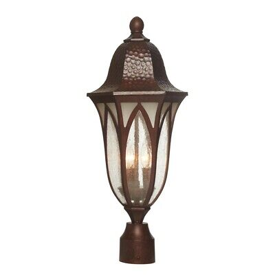 "Designers Fountain Berkshire 9"" Post Lantern, Antique Copper - 20626-BAC"