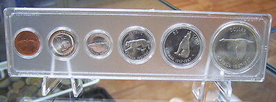 CANADA SILVER 1967  B.U. SET MS-60 to MS-63  **ANIMAL**