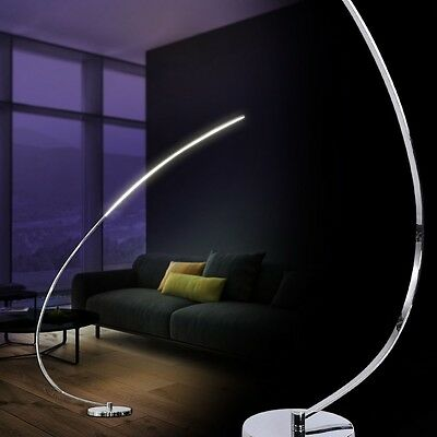 Lampada da terra design piantana archi lampada a stelo led for Piantana design