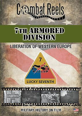 7th Armored Division: WWII Archives Research DVD - Original Army Film Footage