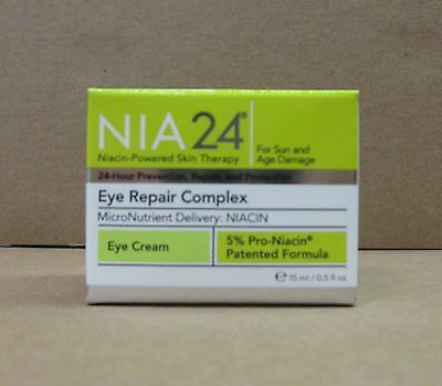 NIA24 NIA 24 Eye Repair Complex - 15 ml / 0.5 oz New in Box Authentic Freshness