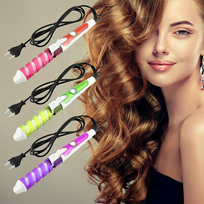 New Chic Electric Magic Hair Styling Tool Hair Curler Roller Spiral Curl Styler