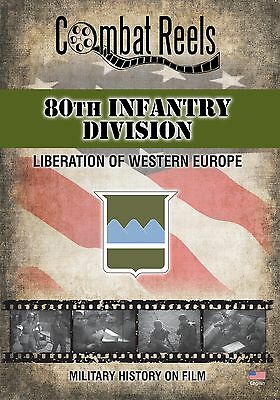 80th Infantry Division: WWII Archives Research DVD - Western Europe Film Footage