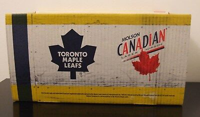 Toronto Maple Leafs Molson Canadian Bubba Box Holds Two 5 Litre Mini Beer Kegs