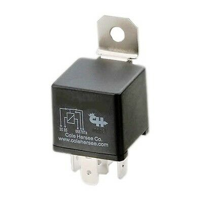 New Cole Hersee RC-700112-DN-BX 70A 12V Form C Relay, diode suppression