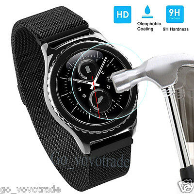 New Explosion-Proof Tempered Glass LCD Screen Protector Film for Samsung Gear S3