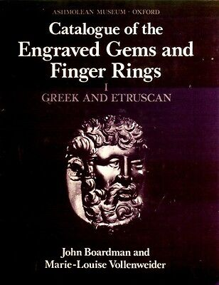 Greek Etruscan Finger Rings Engraved Gemstones Oxford Ashmolean Hellenistic Pix