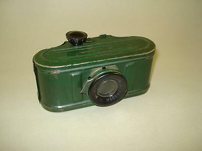 1940s Russian Primitive Tin Slide Film Viewer with the Appearance of the Camera