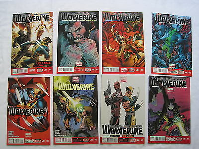WOLVERINE #s 1,2,3,4,5,6,7,8 COMPLETE by CORNELL & DAVIS. MARVEL NOW! 2012