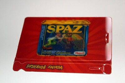 Topps Wacky Packages ANS8 Spaz Motion Tag Card Mint #7 of 10