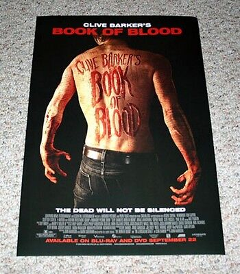 Clive Barker's Book of Blood Mini One Sheet Movie Poster Sophie Ward