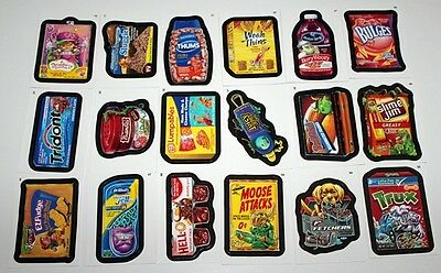 Topps Wacky Packages AN9 Lot of 18 Misc Stickers Cards New