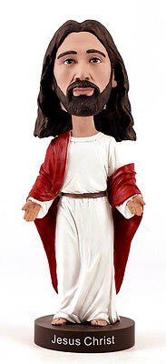 Jesus Christ 10-Inch Tall Bobble Head In Beautiful Spiritual Box