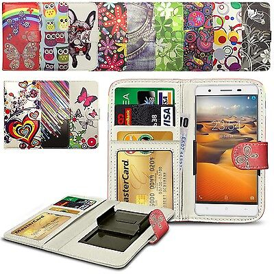 For HTC One M9+ Supreme Camera - Clip On Design PU Leather Wallet Case Cover