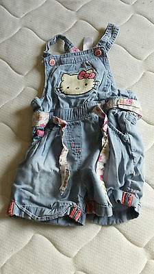 Salopette fille Hello Kitty T86