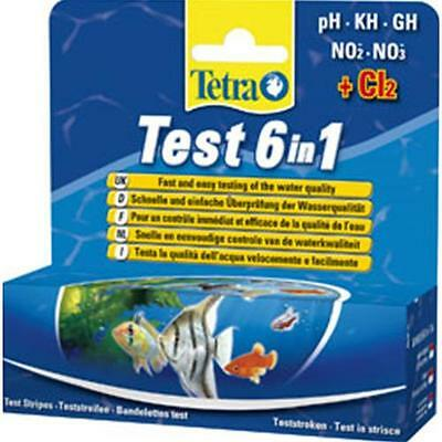 Record Tetra Test Strisce 6 In 1 - 25 Test.