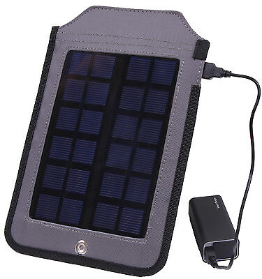 multi functional solar charging panel tactical hiking survival camping 80005