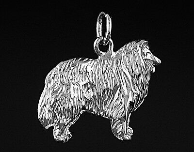 Pendentif Chien COLLEY - Pendant COLLIE DOG
