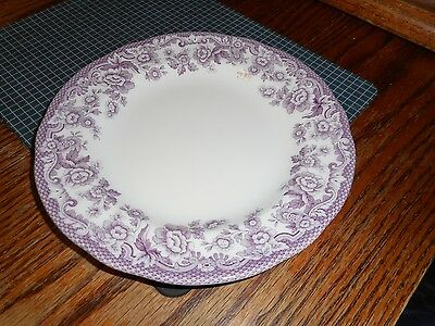 "NEW SPODE DELAMERE BOUQUET 7 1/2"" Salad Dessert  PLATE (s) MADE in ENGLAND"