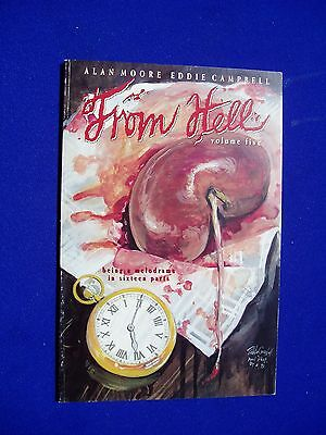 From Hell 5: by Alan Moore and Eddie Campbell. Jack The Ripper.1st printing VFN.