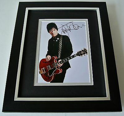 Johnny Marr SIGNED 10X8 FRAMED Photo Autograph Display Smiths Music Guitar & COA