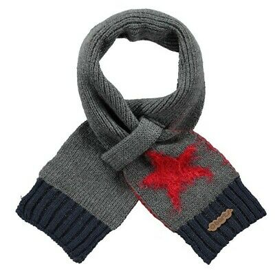 Barts Milkyway Scarf Warm Scarf for insert Children's Boy's dark heather