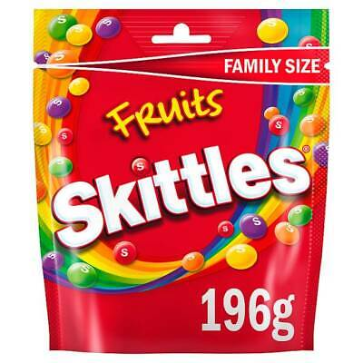 SKITTLES FRUITS 174g SWEETS WHOLESALE DISCOUNT FAVOURS TREATS PARTY CANDY