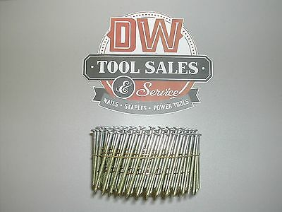 """Coil Nails Deck Fence 2 3/8"""" Ring Shank Hot Dipped Galvanized (5,000) 15 degree"""