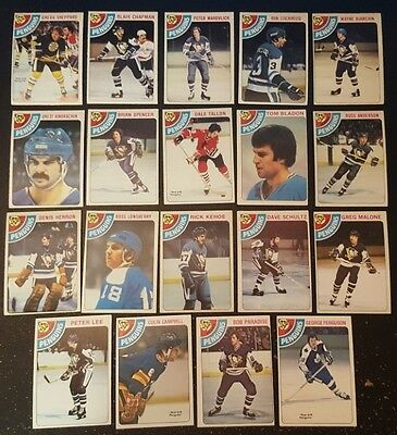 1978-79 OPC PITTSBURGH PENGUINS Select from LIST NHL HOCKEY CARDS O-PEE-CHEE