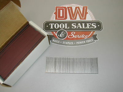 "18 Gauge Brads 1 9/16"" Inch Galvanized Painted Reddish Brown Brad Nails (5,000)"
