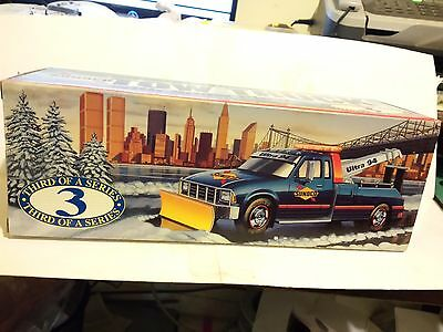 """Sunoco """"1996 Tow Truck with Snow Plow"""" Collector's Edition Third of a Series"""