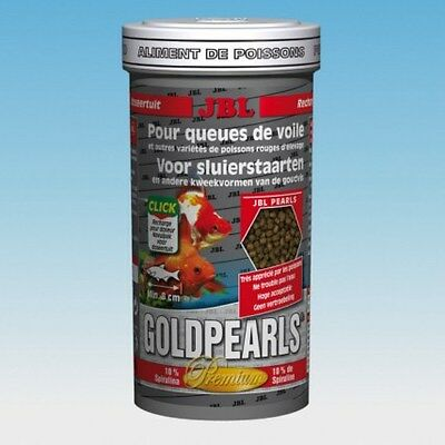 JBL GoldPearls Goldfish & Fancy Fish Food 580g